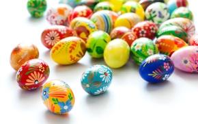 Картинка Пасха, Яйца, Праздник, Много, Easter