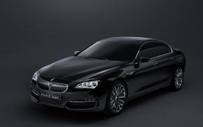 Обои coupe, gran, concept, bmw