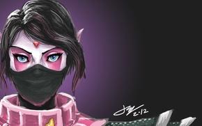 Картинка девушка, Defense of the Ancients, Dota 2, Lanaya, The Templar Assassin