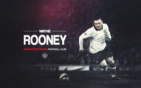 Картинка Спорт, Manchester United, Манчестер Юнайтед, Wayne Rooney, FuriousGFX
