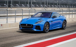 Картинка Jaguar, Coupe, Track, F-Type, SVR