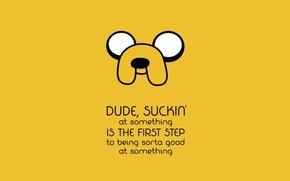 Картинка Джейк, время приключений, Adventure Time, Jake the Dog