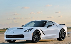 Картинка Corvette, Chevrolet, Stingray, HPE500 by Hennessey