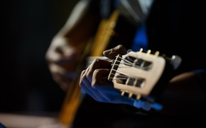 Картинка музыка, гитара, руки