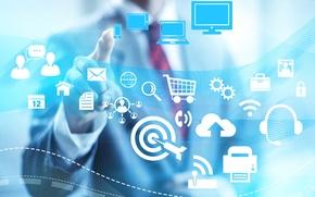 Картинка технологии, интернет, бизнес, схемы