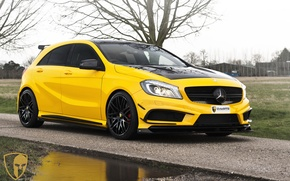 Картинка Mercedes, AMG, A45, automotive, A45AMG, mulgari