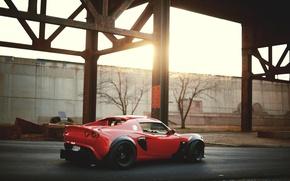 Картинка машина, красный, обои, red, Лотус, Auto, cars, Lotus Elise, wallpapers, Элис