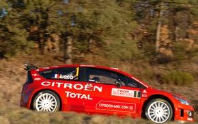 Картинка Ситроен, Citroen, Loeb, WRC, Rally, Ралли, Monte Carlo