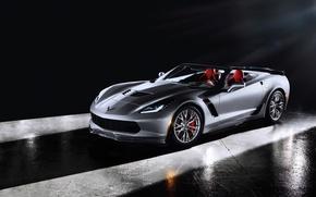 Картинка car, Chevrolet, корвет, автообои, Corvette Z06