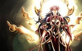Картинка League of Legends, фанарт, Irelia, LoL, редизайн