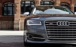 Картинка морда, Audi, ауди, фары