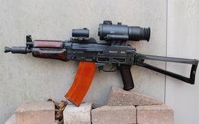 Картинка оружие, Калашникова, АКС74У, калаш, автомат