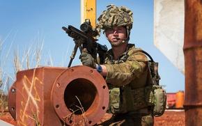 Картинка оружие, солдат, Australian Army
