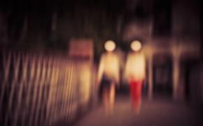 Картинка blur, Blurred, defocus, Brendan Ó Sé, Defocused, Mrs. Lady & Mrs. Woman, Abtraction