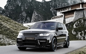 Обои ленд ровер, Mansory, рендж ровер, Land Rover, Range Rover, спорт, Sport