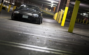 Картинка Mazda, black, jdm, Miata