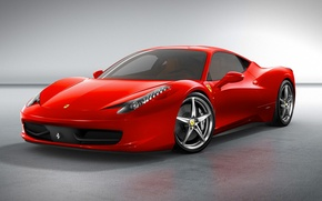 Обои Ferrari, 458, Italia, 2015