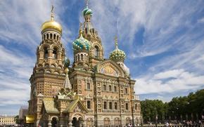 Обои небо, Санкт-петербург, Спас на крови