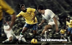 Картинка футбол, Рональдиньо, неприкасаемые