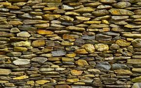 Картинка Камни, стена, булыжники, текстура