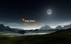 Картинка world, wallpaper, Italy, football, AS Roma