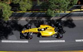 Картинка сверху, Renault, Рено, Formula 1, Team, Monte Carlo, Magnussen