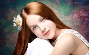 Обои девочка, Dreaming beauty, портрет