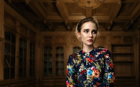 Картинка девушка, портрет, Ника, боке, Tatiana Mercalova