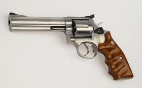 Картинка metal, wood, revolver, fire arms