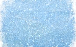 Картинка зима, снег, снежинки, blue, winter, snow, snowflakes