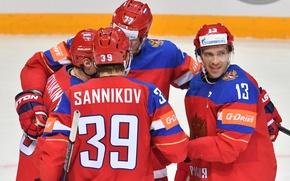 Картинка радость, Россия, хоккей, Russia, русские, сборная, hockey, Ice hockey world championship, Хоккеисты, ЧМ 2016, Чемпионат …