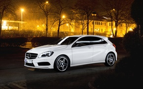 Картинка Mercedes, Benz, white, AMG, 200, CDi, A Class