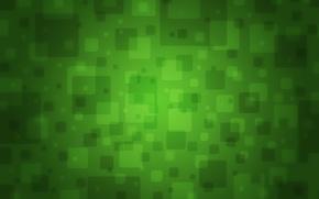 Обои зеленый, цвет, текстура, квадраты