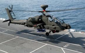 Картинка Apache, Douglas, McDonnell, AH-64, основной ударный вертолёт Армии США