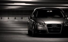 Картинка фото, Audi, City, cars, auto, wallpapers auto, Parking, Audi a4, wallpapers audi