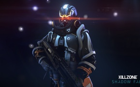 Картинка солдат, пушка, Guerrilla Games, Killzone: Shadow Fall
