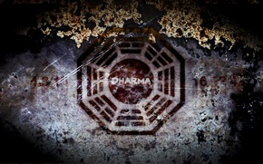 Обои знак, Lost, Dharma Initiative
