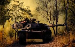 Картинка оружие, tank, M1A1 Abrams