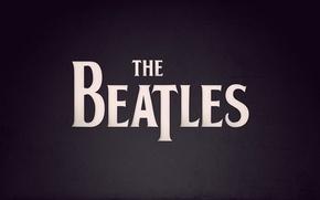 Обои рок-н-ролл, рок-музыка, Beatles, Битлз, надпись, фиолетовый