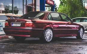 Обои BMW, Бумер, БМВ, E38, Tuning Car, 750iL