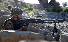 Картинка оружие, солдат, British Army