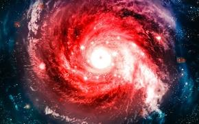 Картинка космос, вселенная, галактика