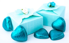 Картинка шоколад, конфеты, подарки, сердечки