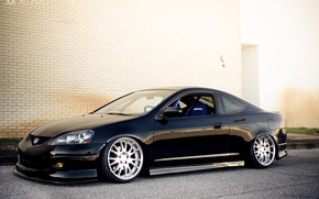 Обои Acura, Wheels, Honda, RSX, Stance, AME, Integra