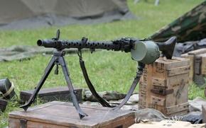 Обои оружие, Machine Gun MG34, пулемёт