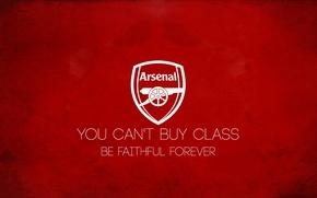 Картинка Лондон, Red, Logo, Arsenal, футбольный клуб, Канониры