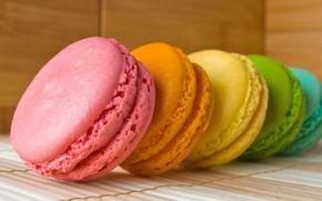 Картинка цвет, радуга, печенье, слой