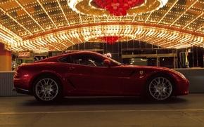 Картинка Ferrari 599 GTB Fiorano, Luxury, Passion
