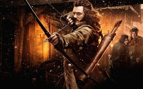 Картинка лук, стрелы, bow, Хоббит, The Hobbit, arrow, Luke Evans, Люк Эванс, Хоббит: Пустошь Смауга, or …