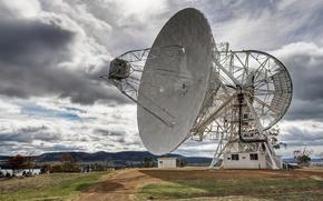 Обои изучение, иследования, антенна, космос